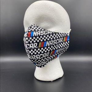 NASCAR Fitted Cloth Face Mask - Adult ➕ Filter